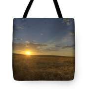 Sunset On The Prairie Tote Bag