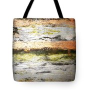 Sunset On The River Tote Bag
