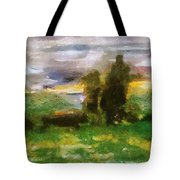 Sunset On The Road - The Highway Series Tote Bag