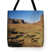 Sunset On Towers Tote Bag