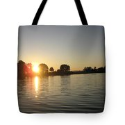 Sunset On Walter Wirth Lake Tote Bag