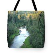 Sunset On Whitemud Creek 2 Tote Bag