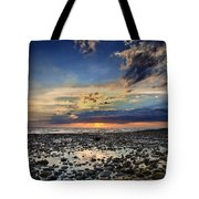 Sunset Over Bound Brook Island Tote Bag