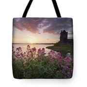 Sunset Over Dunguaire Castle, Kinvara Tote Bag