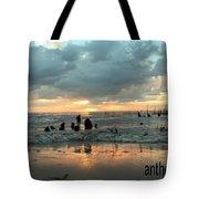 Sunset Over Lake Pontchartrain Tote Bag