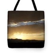 Sunset Over Mt Charleston Tote Bag