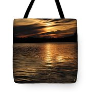 Sunset Over The Lake - 3rd Place Win Tote Bag