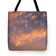 Sunset Over The Moscow River Tote Bag