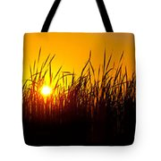 Sunset Over The Prairie Tote Bag