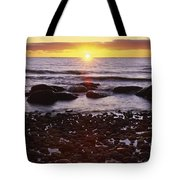 Sunset Over Water, Newfoundland, Canada Tote Bag