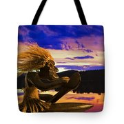 Sunset Paddle Tote Bag