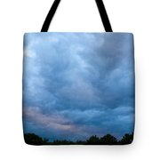 Sunset Painted Sky Tote Bag