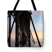 Sunset Pier California 3 Tote Bag