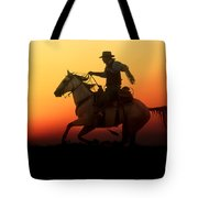 Sunset Romance Tote Bag