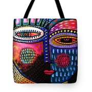 Sunset Rose Goddess Tote Bag