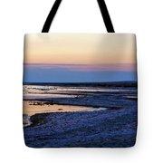Sunset Salton Sea North Tote Bag