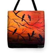 Sunset Secrets Tote Bag