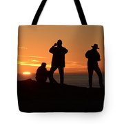 Sunset Silouettes Tote Bag