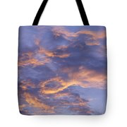 Sunset Sky Over Nipomo, California Tote Bag