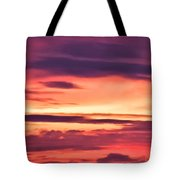 Sunset Skyscape Tote Bag