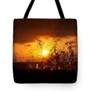 Sunset Splash 2 Tote Bag