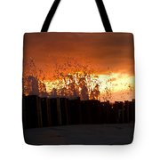 Sunset Splash 4 Tote Bag