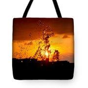 Sunset Splash 5 Tote Bag