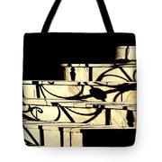 Sunset Steps Tote Bag