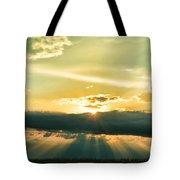 Sunset Sunbeams Tote Bag