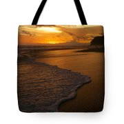Sunset Surf Playa Hermosa Costa Rica Tote Bag
