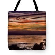 Sunset Swirl Tote Bag