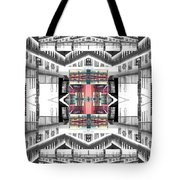 Sunset Two Gray Hill Tote Bag