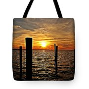 Sunset X Tote Bag
