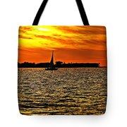 Sunset Xi Tote Bag
