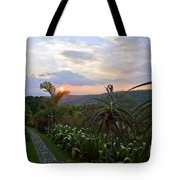 Sunsetting Over Costa Rica Tote Bag