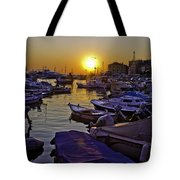 Sunsetting Over Rovinj 2 Tote Bag