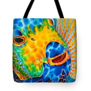 Sunshine Angelfish Tote Bag by Daniel Jean-Baptiste