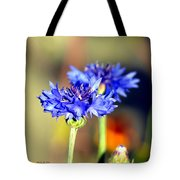 Sunshine Blues Tote Bag