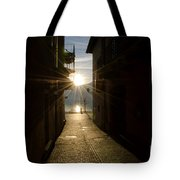 Sunshine In An Alley Tote Bag