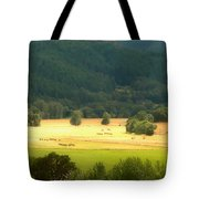 Sunshine In The Valley Tote Bag