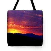 Sunshine Mountain Range Tote Bag