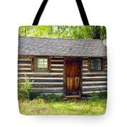 Sunshine On The Little Cabin Tote Bag