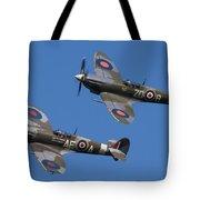Supermarine Spitfires Tote Bag