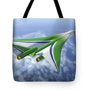 Supersonic Aircraft Design Tote Bag