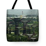 Supertrees At The Gardens By The Bay In Singapore Tote Bag