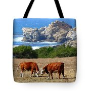 Surf And Turf Two Tote Bag by Jeff Lowe