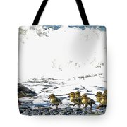 Surf Ducks Tote Bag