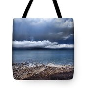 Surface Clouds Tote Bag