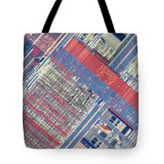 Surface Of Integrated Chip Tote Bag by Michael W. Davidson