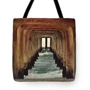 Surfer's Labyrinth  Tote Bag